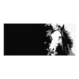 Horse Rack Card