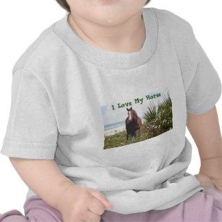 Horse Todler T-Shirt Beach