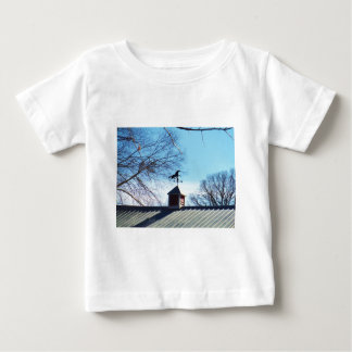 Horse Weather Vane Blue Sky Baby T-Shirt