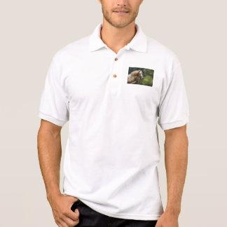 Horse - White Stallion Polo Shirts