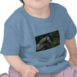 Horse - White Stallion Tee Shirts