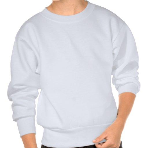 Horse - White Stallion Pullover Sweatshirt