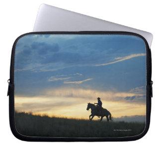 Horseback rider 15 laptop sleeve