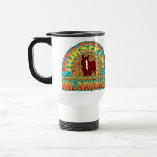 Horseplay Mug. Travel Mug
