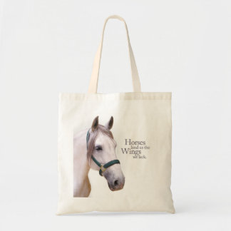 Horses Give Us Wings Bag