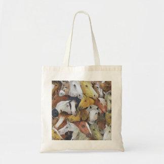 Horses Horses Tote Bag