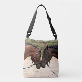 Horses in Love Crossbody Bag