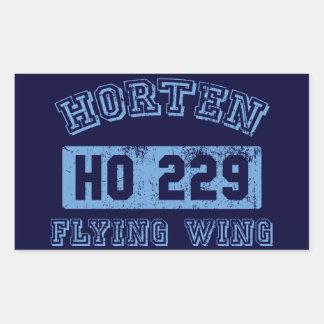 Horten Ho 229 - Blue Rectangular Sticker