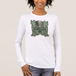 Horus Cats Double-Sided Long Sleeve T-Shirt