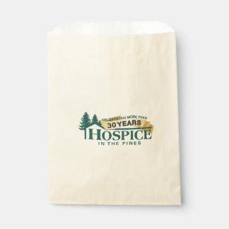Hospice In The Pines Favor Bag Favour Bags