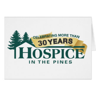 Hospice In The Pines Note Pad Card