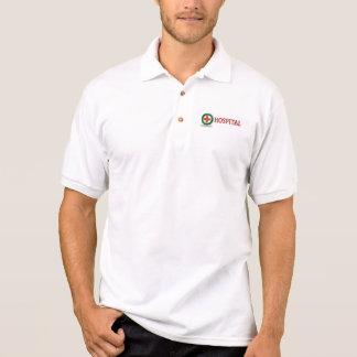 hospital name on t shirt pocket for men