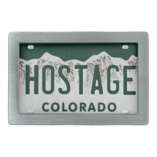 Hostage belt buckle