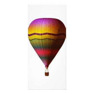 Hot Air Balloon 3 Personalised Rack Card
