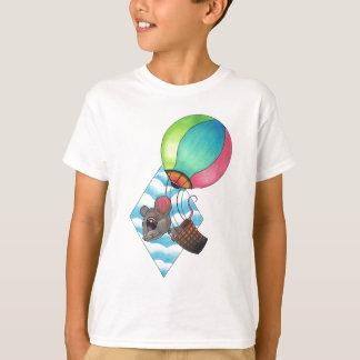 Hot Air Balloon Mouse T-Shirt