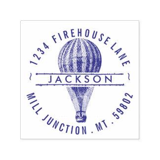 Hot Air Balloon Self-Ink Return Address Stamp