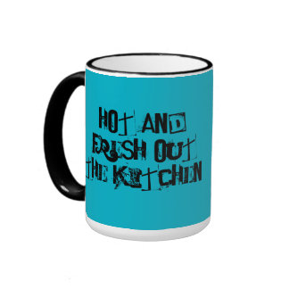 Hot and Fresh Out the Kitchen Coffee Mug