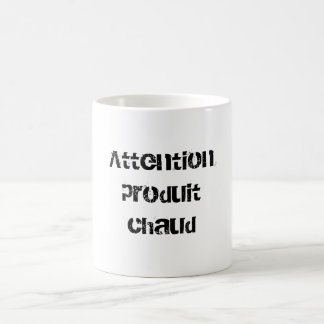 Hot Attentionproduit Basic White Mug