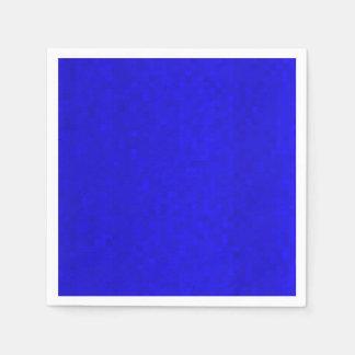 Hot Blue Small Mosaic Tiles, Disposable Napkin