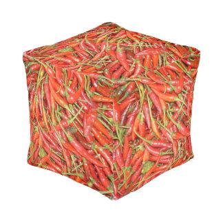 hot chilli pouf