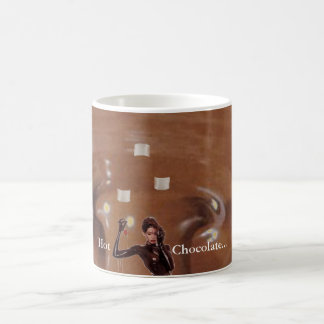 Hot Chocolate w/Marshmellows Basic White Mug