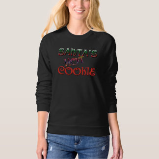 hot cookie for santa christmas t-shirt design