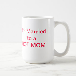 HOT DADs are not afraid to show their love! Basic White Mug