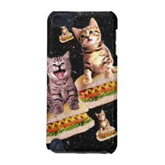 hot dog cat invasion iPod touch 5G case