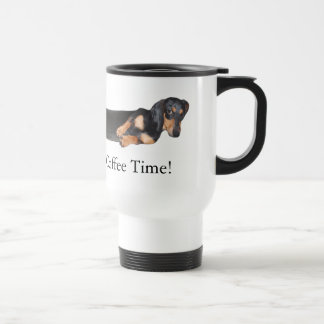 Hot Dog! It's Coffee Time Travel Mug