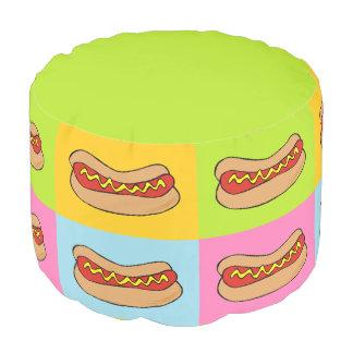 Hot dogs pouf