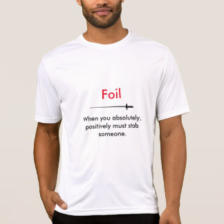 Hot Fencer Of The Day - Foil T-Shirt