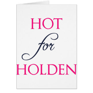 Hot for Holden - The Auction by J.B. McGee Card