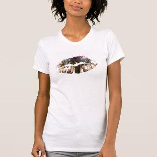 Hot Lips Ladies AA Cap Sleeve Tshirts