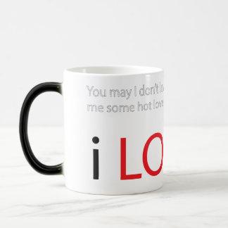 Hot lovi'n morphing mug
