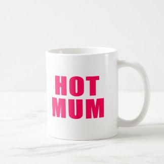 Hot Mum Basic White Mug