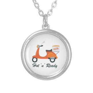 Hot N Ready Round Pendant Necklace