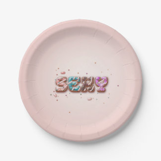 Hot party paperplate paper plate