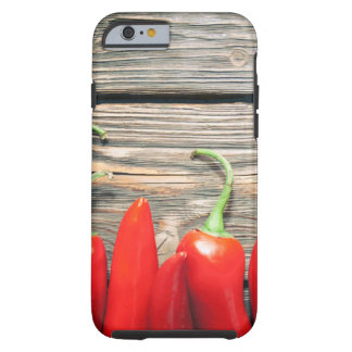 Hot peppers tough iPhone 6 case