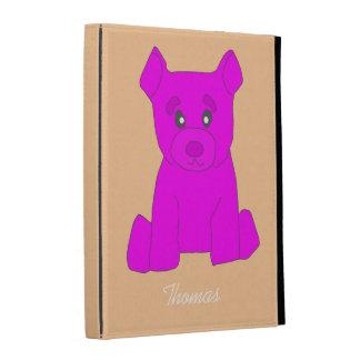 Hot Pink Bear iPad Case Template