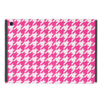 Hot Pink Houndstooth 1 iPad Mini Cover