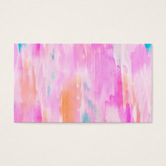 Hot Pink Ikat Watercolor Design
