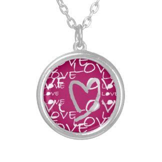 Hot Pink Love Custom Jewelry