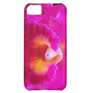 Hot Pink Orchid iPhone 5C Case