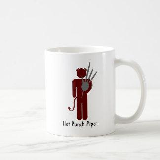 Hot Punch Piper Basic White Mug