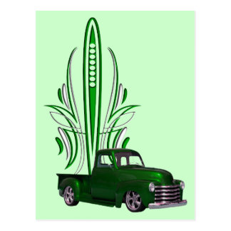 Hot Rod Truck Postcard