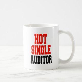 Hot Single Auditor Basic White Mug