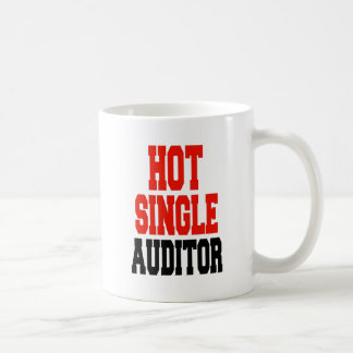 Hot Single Auditor Coffee Mug