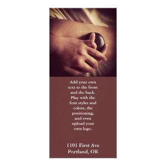 Hot Stone Massage Photo Customized Rack Card