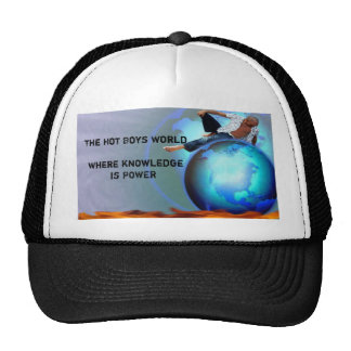 HOT, The Hot Boys WorldWhere knowledge is POWER Cap