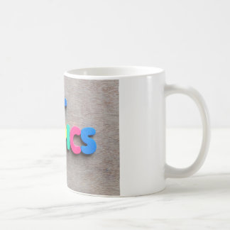 Hot topics coffee mug